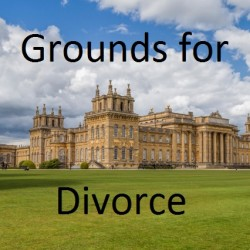 Understanding divorce part 2 - Grounds for divorce