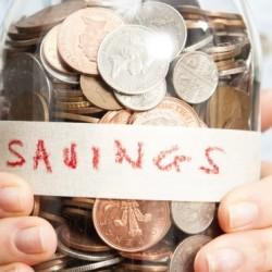 A piggy bank jar